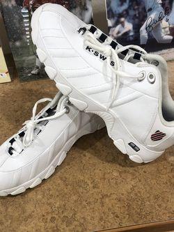 Men's K.Swiss White Tennis Shoes - Size 12 - New for Sale in Surprise,  AZ