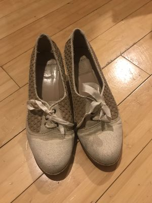 Used, Vintage Rachel Comey textile and leather heels. Size 8.5 for Sale for sale  Brooklyn, NY