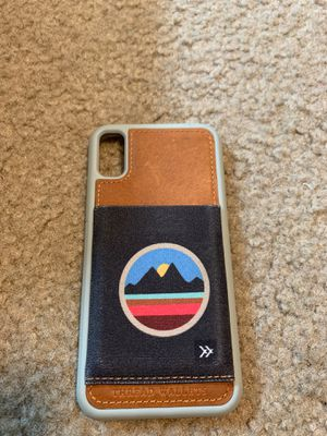 THREAD WALLET iPhone X case for Sale in Knoxville, TN