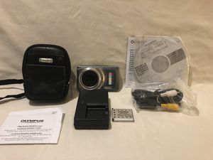 Like new hardly used Olympus digital camera with memory card for Sale in Vacaville, CA