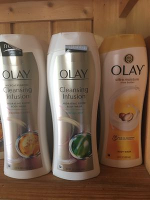 (Olay/Dial/Irish spring)Body washes 3 bottles for $10 for Sale in Quincy, IL