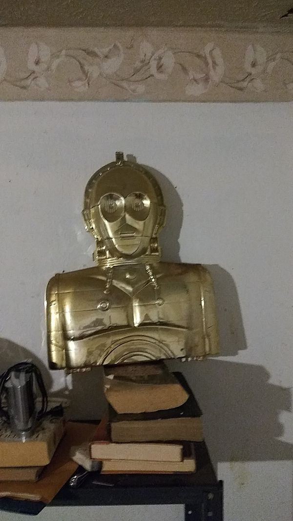 C3po star wars figure carrier only