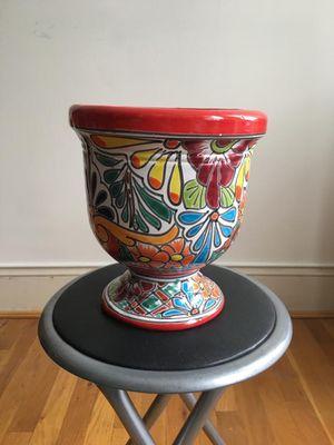 Colorful flower/plant pot for Sale in Alexandria, VA