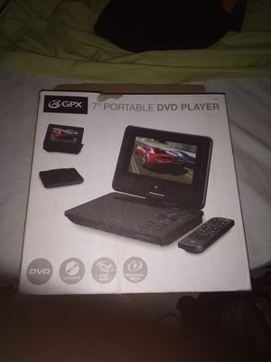 """7"""" Portable DVD Player for Sale in Portland, OR"""