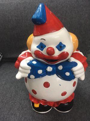 Clown cookie 🍪 jar antique for Sale in Torrance, CA