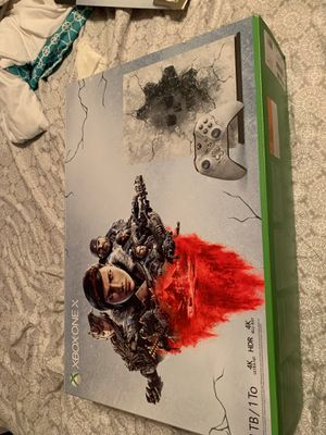 Xbox one x for Sale in Pearland, TX