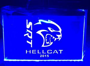 SRT Hellcat 3D LED Neon Light Sign Wall Decor for Sale in Akron, OH