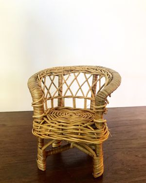 Mini Wicker Doll Chair for Sale in Mesa, AZ