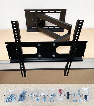 "Brand new $25 Full Motion 23""-50"" TV Wall Mount Bracket 180 Degree Swivel Tilt, Max load 100Lbs for Sale in Pico Rivera, CA"