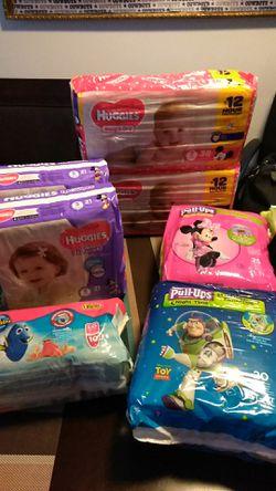 Diaper\ Pull ups for Sale in Camden,  NJ