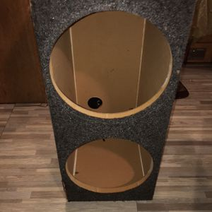 2/12 Subwoofers Box Only!!!! for Sale in Lakeside, CA