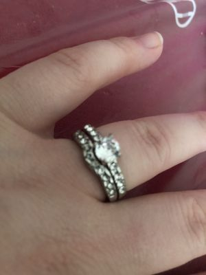 Wedding ring set size 8 for Sale in Plant City, FL