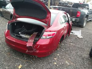 Selling Parts for a Red 2006 Mazda 6 STK#1318 for Sale in Detroit, MI