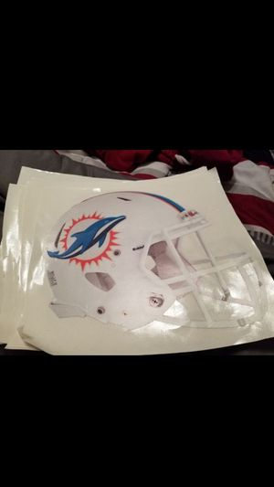 Dolphins fathead 11x7 for Sale in Fall River, MA