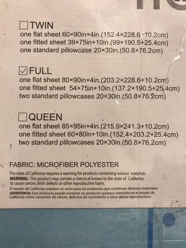 New full size microfiber minion sheets