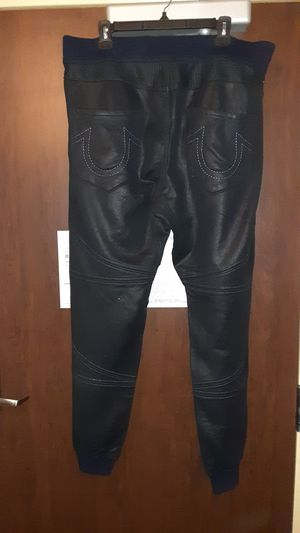 True Religion Waxed Sweatpants size L for Sale in Woodbridge, VA