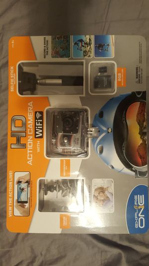 BRAND NEW HD ACTION CAMERA WITH WIFI for Sale in Ontario, CA