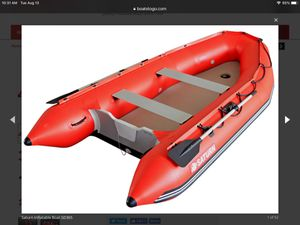Saturn 12' inflatable boat raft dinghy tender dingy NEW for Sale in North Miami Beach, FL