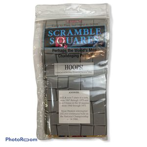New Scramble Squares HOOPS! Puzzle for Sale in Princeton, NJ
