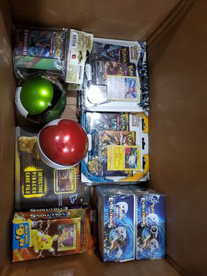 Pokemon cards boxes packs and more for Sale in Riverside, CA