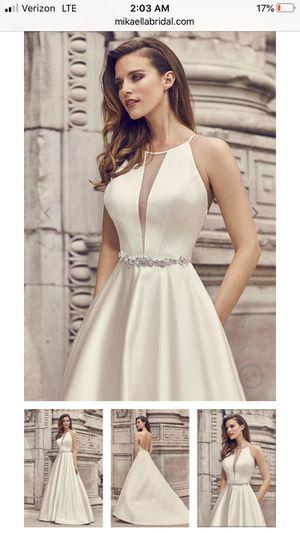 Wedding dress (Mikaella) for Sale in W CNSHOHOCKEN, PA