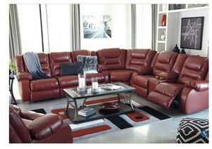 SPECIAL] Vacherie Salsa Reclining Sectional for Sale in Elkridge, MD