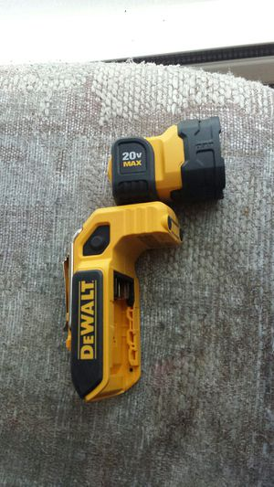 DeWALT 20-Volt Max 160-Lumen magnetic LED Rechargeable Power Flashlight (TOOL ONLY) for Sale in Everett, WA