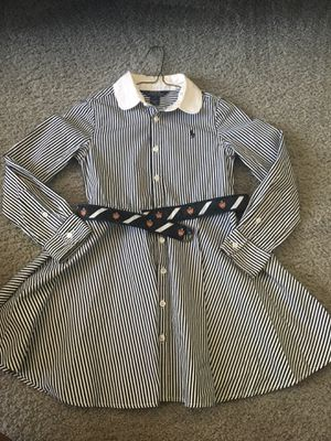 Striped Ralph Lauren Polo Dress with belt for Sale in Goodyear, AZ