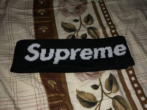 Black Supreme Headband (F/W 2014) for Sale in Fremont, CA