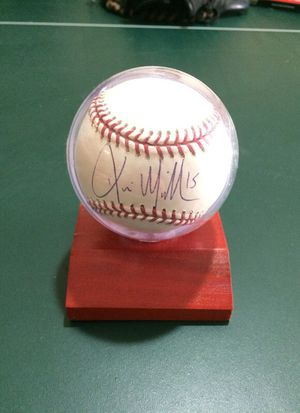 Kevin Millar Autographed Baseball for Sale in Woodbine, MD