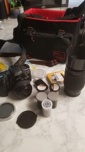 Film Camera with Accessories for Sale in Washington, DC