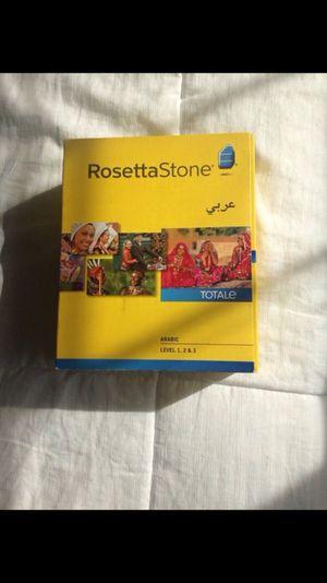 Rosetta Stone Arabic for Sale in Annandale, VA