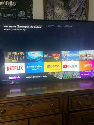 58 Inch smart tv 4K 300 O.B.O $$ for Sale in Modesto, CA