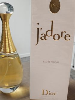 Jadore Eau De Parfum 3.4 Oz for Sale in Sterling Heights,  MI