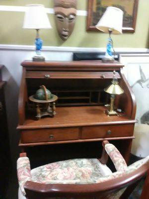 Secretary desk roll down for Sale in North Miami Beach, FL