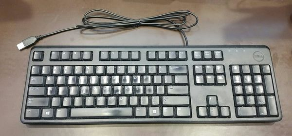 Dell Keyboard and Optical Mouse