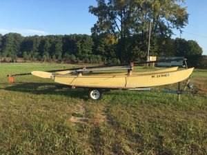 1980 16' Hobie Cat with Trailer for Sale in Traverse City, MI