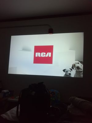"""150"""" rca projector for Sale in Auburn, MA"""