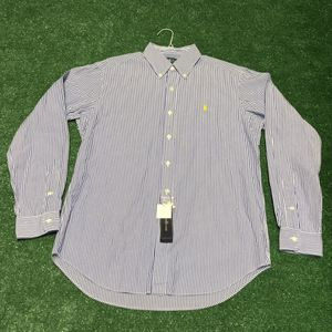 POLO by Ralph Lauren Men's Pinstripe Casual Dress Shirt for Sale in Acworth, GA