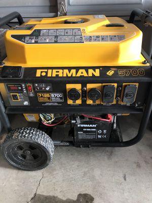 Firman 5700 Generator for Sale in Prineville, OR