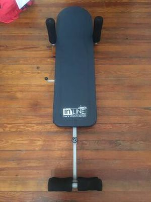 In Line Back Stretch Bench for Sale in Brooklyn, NY
