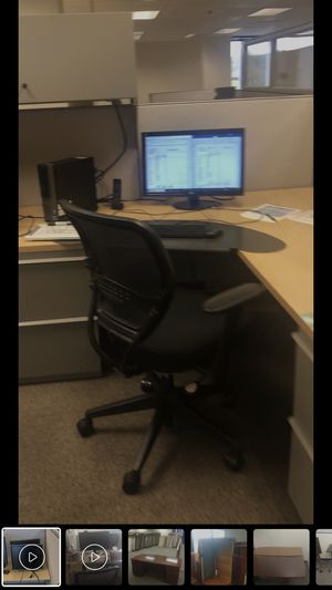 Cubicles, file cabinets, office chairs, desks for Sale in Silver Spring, MD