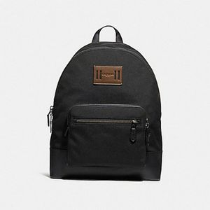NWT Coach Backpack Black Cordura & Leather Bottom for Sale in Hartford, CT