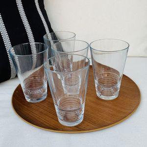 Glassware- 5 Total for Sale in Chula Vista, CA