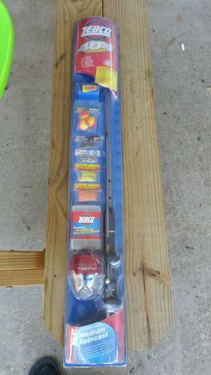Kids Zebco fishing rod complete for Sale in Irving, TX