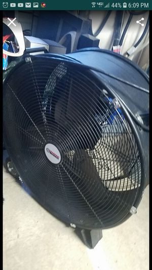 Shop fan only used a couple times for projects for Sale in Tracy, CA