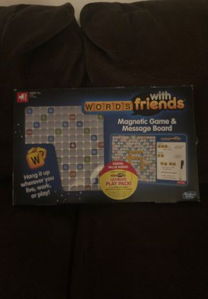 Words with Friends Magnetic Game & Message Board for Sale in Philadelphia, PA
