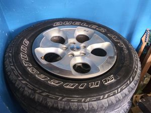 Jeep Wrangle 2013 wheels & tires for Sale in Mesquite, TX