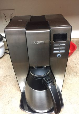 Coffee maker Mr.coffee model nvm-pstx95gtf for Sale in Las Vegas, NV