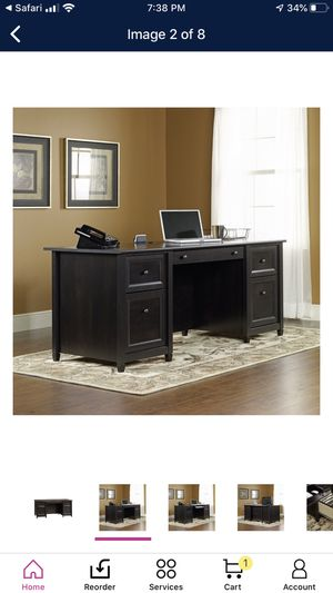 Executive - Luxurious Office Desk - Estate Black finish **New** for Sale in Bloomington, CA